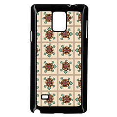 Native American Pattern Samsung Galaxy Note 4 Case (black) by linceazul