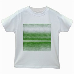 Ombre Kids White T Shirts by ValentinaDesign