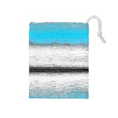 Ombre Drawstring Pouches (medium)  by ValentinaDesign