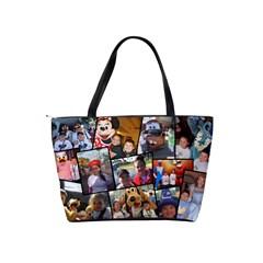 Disney Collage By Robin Jacobs   Classic Shoulder Handbag   Aqutu93f2edb   Www Artscow Com Back