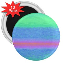 Ombre 3  Magnets (10 Pack)  by ValentinaDesign