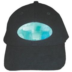 Ombre Black Cap by ValentinaDesign