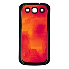 Ombre Samsung Galaxy S3 Back Case (black) by ValentinaDesign