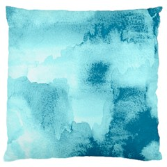 Ombre Large Flano Cushion Case (one Side) by ValentinaDesign