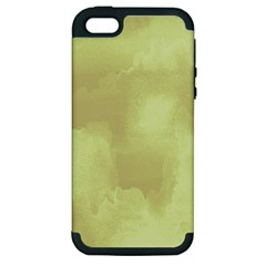 Ombre Apple Iphone 5 Hardshell Case (pc+silicone) by ValentinaDesign