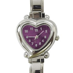 Ombre Heart Italian Charm Watch by ValentinaDesign