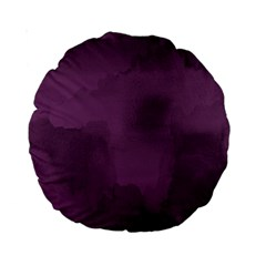 Ombre Standard 15  Premium Round Cushions by ValentinaDesign