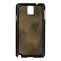 Ombre Samsung Galaxy Note 3 N9005 Case (black) by ValentinaDesign