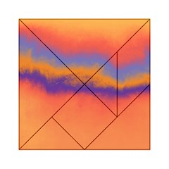 Ombre Acrylic Tangram Puzzle (6  X 6 ) by ValentinaDesign