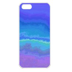 Ombre Apple Iphone 5 Seamless Case (white) by ValentinaDesign