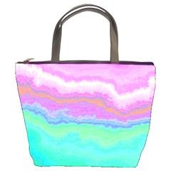 Ombre Bucket Bags