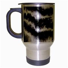 Ombre Travel Mug (silver Gray) by ValentinaDesign