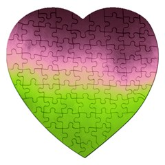 Ombre Jigsaw Puzzle (heart) by ValentinaDesign