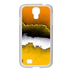 Ombre Samsung Galaxy S4 I9500/ I9505 Case (white) by ValentinaDesign