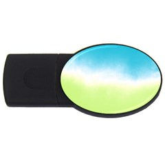 Ombre Usb Flash Drive Oval (2 Gb) by ValentinaDesign