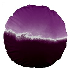 Ombre Large 18  Premium Round Cushions by ValentinaDesign