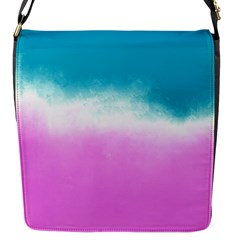 Ombre Flap Messenger Bag (s) by ValentinaDesign