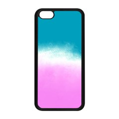 Ombre Apple Iphone 5c Seamless Case (black) by ValentinaDesign