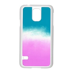 Ombre Samsung Galaxy S5 Case (white) by ValentinaDesign