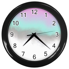 Ombre Wall Clocks (black) by ValentinaDesign