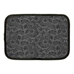 Floral Pattern Netbook Case (medium)  by ValentinaDesign
