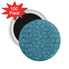 Floral Pattern 2 25  Magnets (100 Pack)  by ValentinaDesign