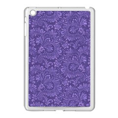 Floral Pattern Apple Ipad Mini Case (white) by ValentinaDesign