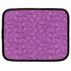Floral Pattern Netbook Case (xl)  by ValentinaDesign