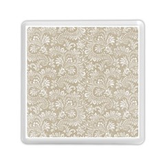 Floral Pattern Memory Card Reader (square)  by ValentinaDesign