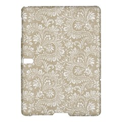 Floral Pattern Samsung Galaxy Tab S (10 5 ) Hardshell Case  by ValentinaDesign