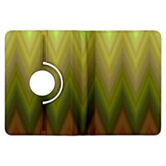 Zig Zag Chevron Classic Pattern Kindle Fire Hdx Flip 360 Case by Nexatart