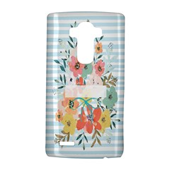 Watercolor Bouquet Floral White Lg G4 Hardshell Case by Nexatart