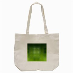 Halftone Circle Background Dot Tote Bag (cream) by Nexatart