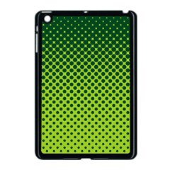 Halftone Circle Background Dot Apple Ipad Mini Case (black) by Nexatart