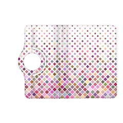 Pattern Square Background Diagonal Kindle Fire Hd (2013) Flip 360 Case by Nexatart