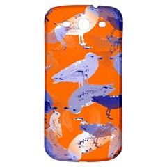 Seagull Gulls Coastal Bird Bird Samsung Galaxy S3 S Iii Classic Hardshell Back Case by Nexatart