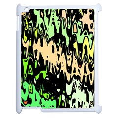 Modern Abstract 46c Apple Ipad 2 Case (white) by MoreColorsinLife