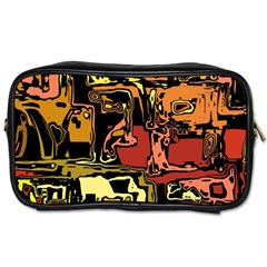 Modern Abstract 47c Toiletries Bags 2 Side