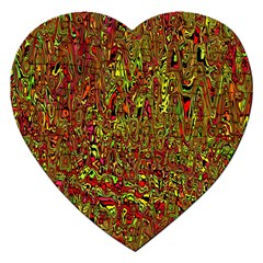 Modern Abstract 45c Jigsaw Puzzle (heart) by MoreColorsinLife
