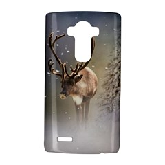 Santa Claus Reindeer In The Snow Lg G4 Hardshell Case by gatterwe