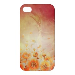 Flower Power, Cherry Blossom Apple Iphone 4/4s Premium Hardshell Case by FantasyWorld7