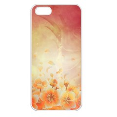 Flower Power, Cherry Blossom Apple Iphone 5 Seamless Case (white) by FantasyWorld7