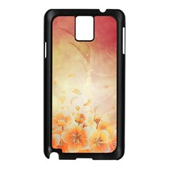 Flower Power, Cherry Blossom Samsung Galaxy Note 3 N9005 Case (black) by FantasyWorld7