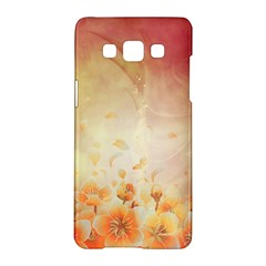 Flower Power, Cherry Blossom Samsung Galaxy A5 Hardshell Case  by FantasyWorld7