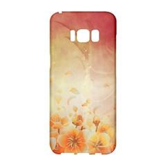 Flower Power, Cherry Blossom Samsung Galaxy S8 Hardshell Case  by FantasyWorld7