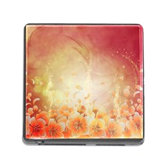 Flower Power, Cherry Blossom Memory Card Reader (square) by FantasyWorld7