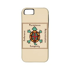 Turtle Animal Spirit Apple Iphone 5 Classic Hardshell Case (pc+silicone) by linceazul