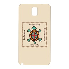Turtle Animal Spirit Samsung Galaxy Note 3 N9005 Hardshell Back Case by linceazul