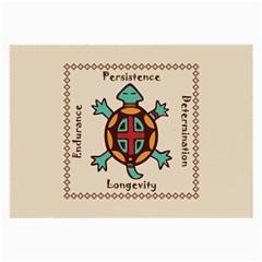 Turtle Animal Spirit Large Glasses Cloth by linceazul