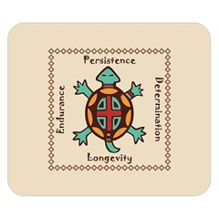 Turtle Animal Spirit Double Sided Flano Blanket (small)  by linceazul
